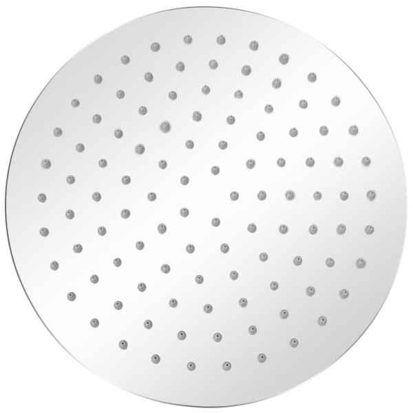 Cap de duș tip ploaie, 2 buc., Ø 25 cm, oțel inoxidabil