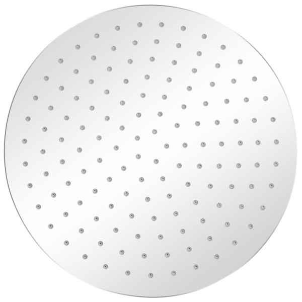 Cap de duș tip ploaie, 2 buc., Ø 30 cm, oțel inoxidabil