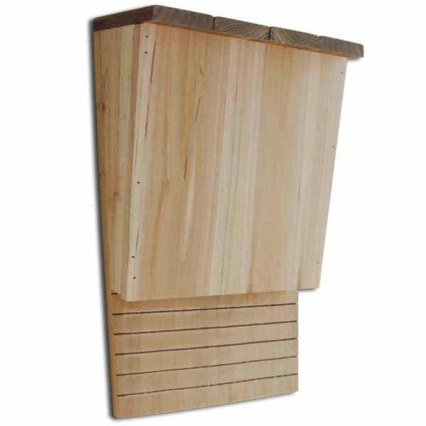vidaXL Căsuțe de lilieci, 4 buc., 22 x 12 x 34 cm, lemn