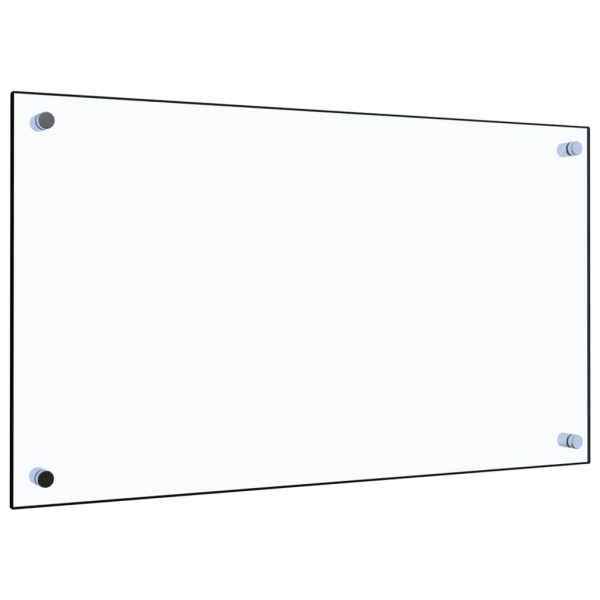 Panou antistropi bucătărie transparent 70×40 cm sticlă securiz.