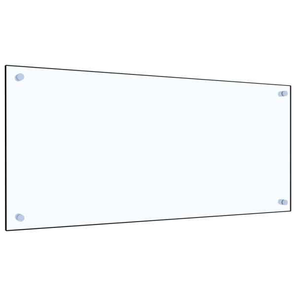 Panou antistropi bucătărie transparent 90×40 cm sticlă securiz.