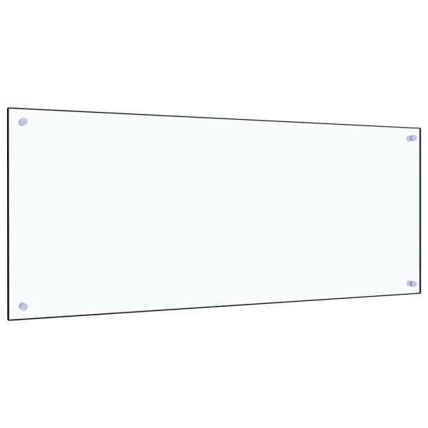Panou antistropi bucătărie transparent 120x50cm sticlă securiz.