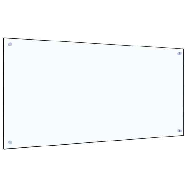 Panou antistropi bucătărie transparent 120x60cm sticlă securiz.