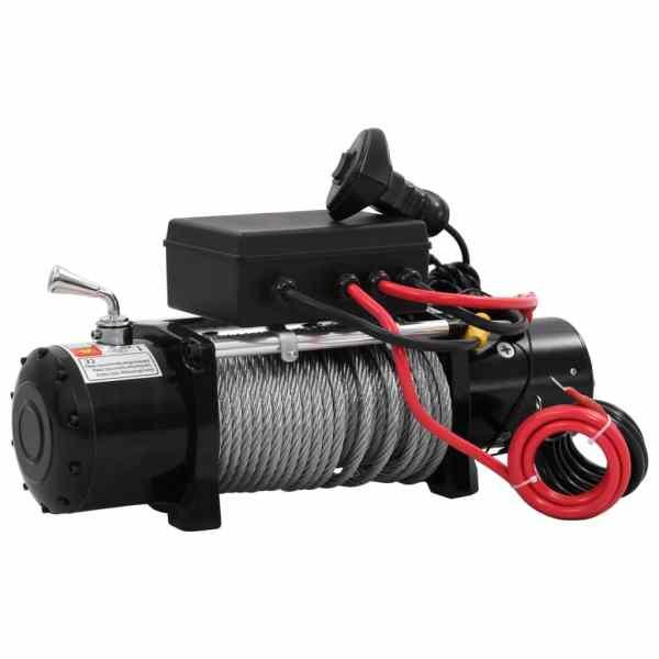 vidaXL Troliu electric, 12 V, 5909 kg