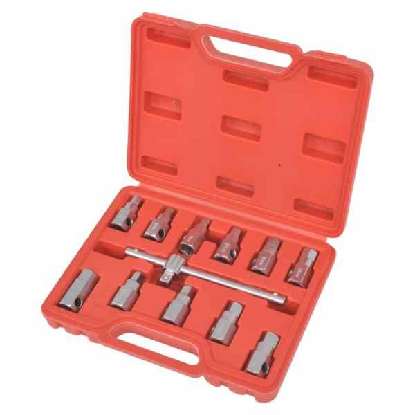 vidaXL Set de chei pentru scurgere baie de ulei, 3/8″