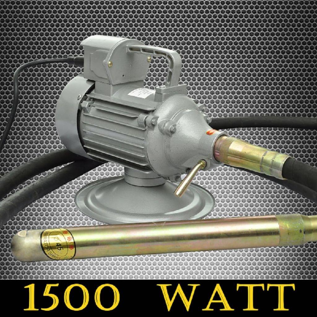 Picamer pentru ciment cu furtun 6 m 220 V 50 Hz 1500 W