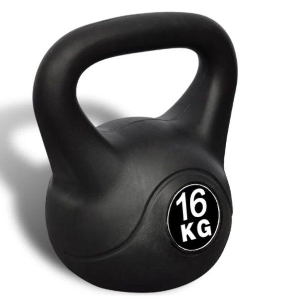 Greutate tip bilă cu mâner Kettlebell 16 kg