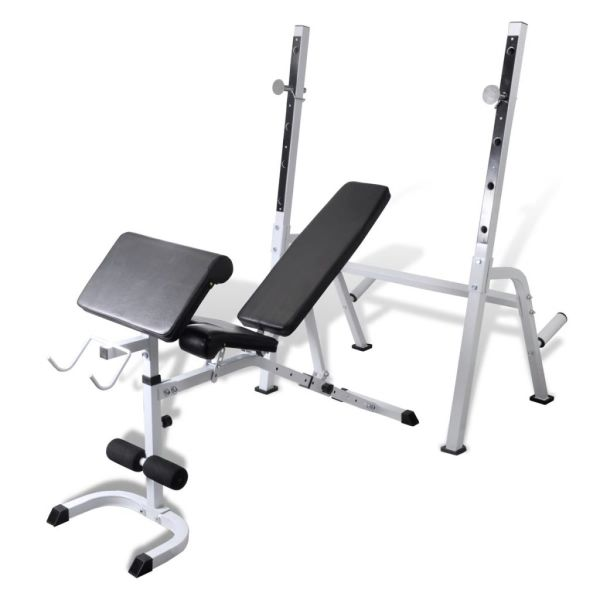 Bancă fitness multifuncțională pentru exerciții forță