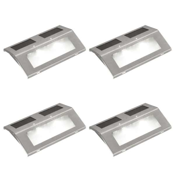 4 x spoturi solare pentru scări