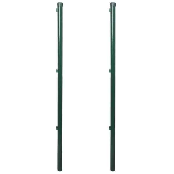 vidaXL Stâlpi pentru gard, 2 buc., 115 cm