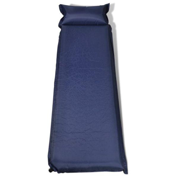Saltea pneumatică 10 x 66 x 200 cm, Albastru