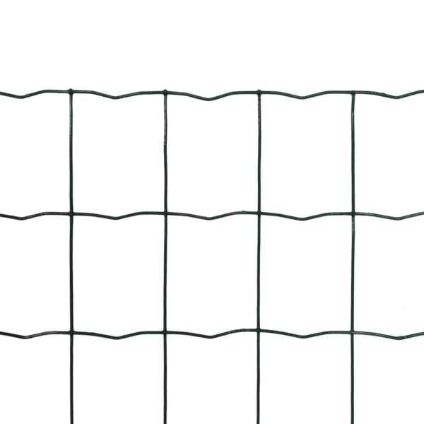 Euro gard, verde, 25 x 0,8 m, oțel
