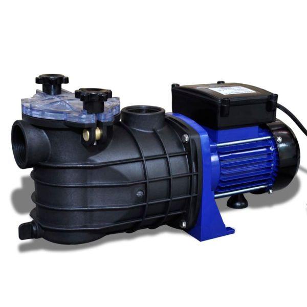 Pompă electrică pentru piscină 500 W, Albastră