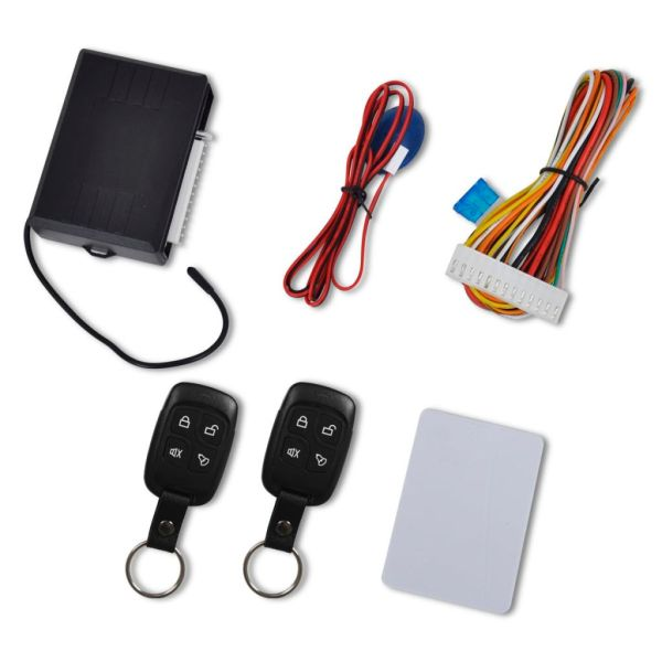 Kit universal închidere centralizată auto cu 2 telecomenzi chei