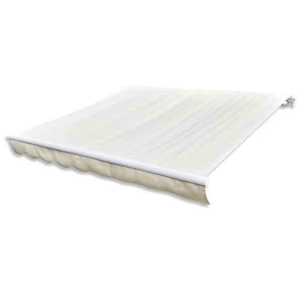 Pânză de copertină, crem, 6 x 3 m, (cadrul nu este inclus)