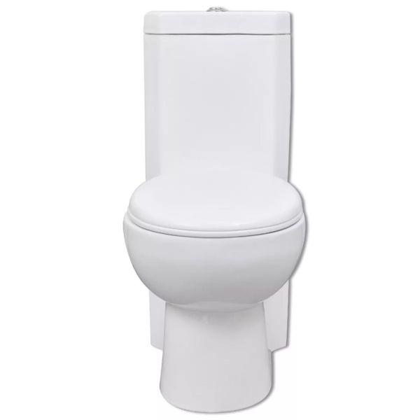 Vas WC din ceramică, Alb
