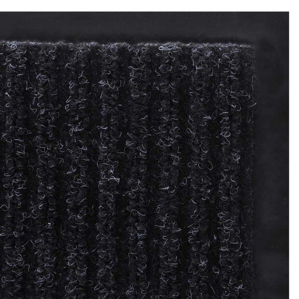Covoraș Intrare PVC Negru 120 x 180 cm