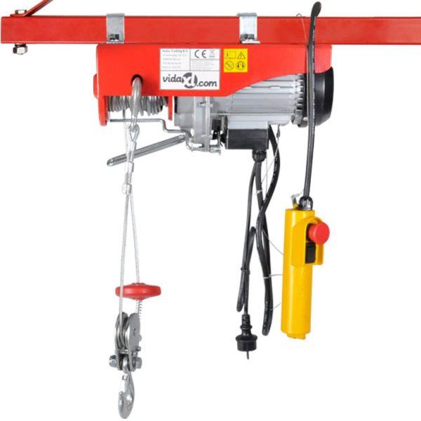 Troliu electric 1000 W 200/400 kg
