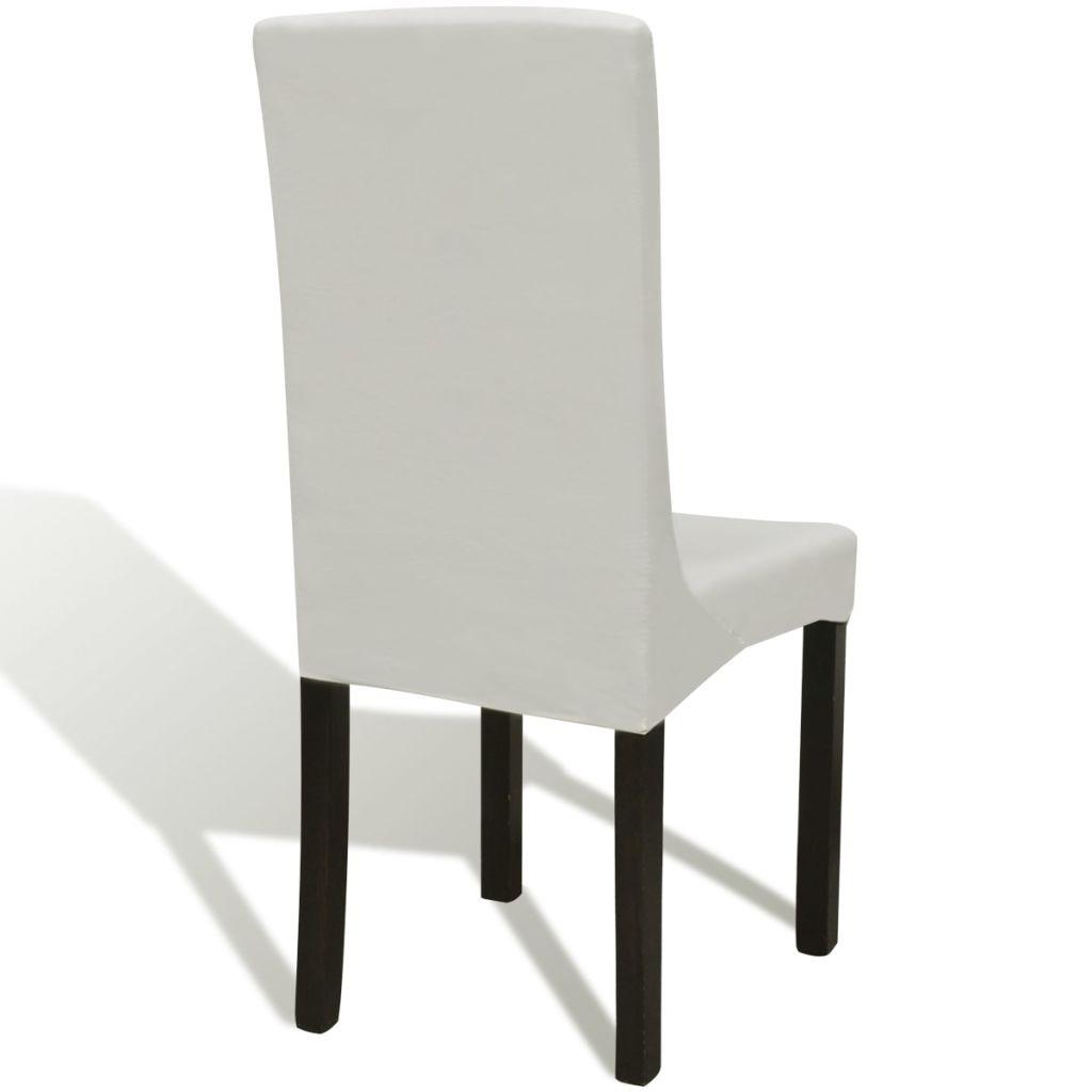 Husă elastică scaun drept 6 buc.