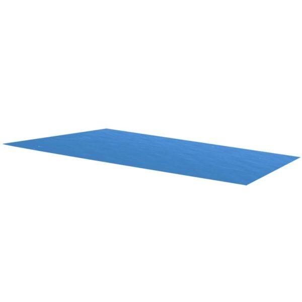 Prelată pentru piscină dreptunghiulară, 260 x 160 cm, PE albastru