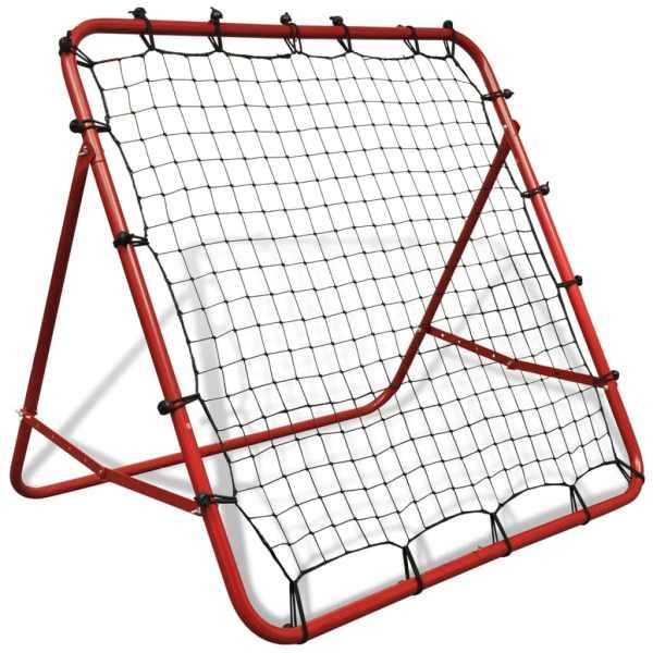Rebounder ajustabil pentru antrenament de fotbal, 100×100 cm