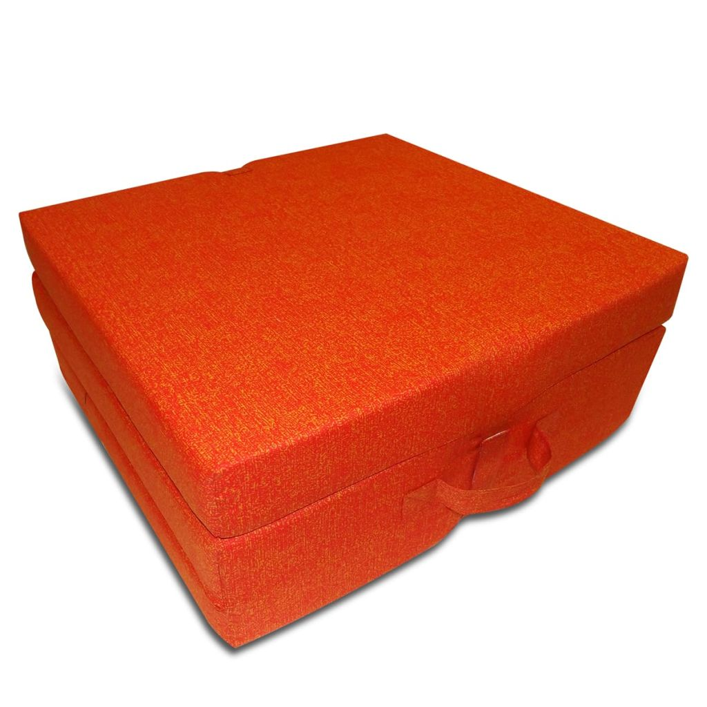 vidaXL Saltea din spumă, pliabilă, 190 x 70 x 9 cm portocaliu