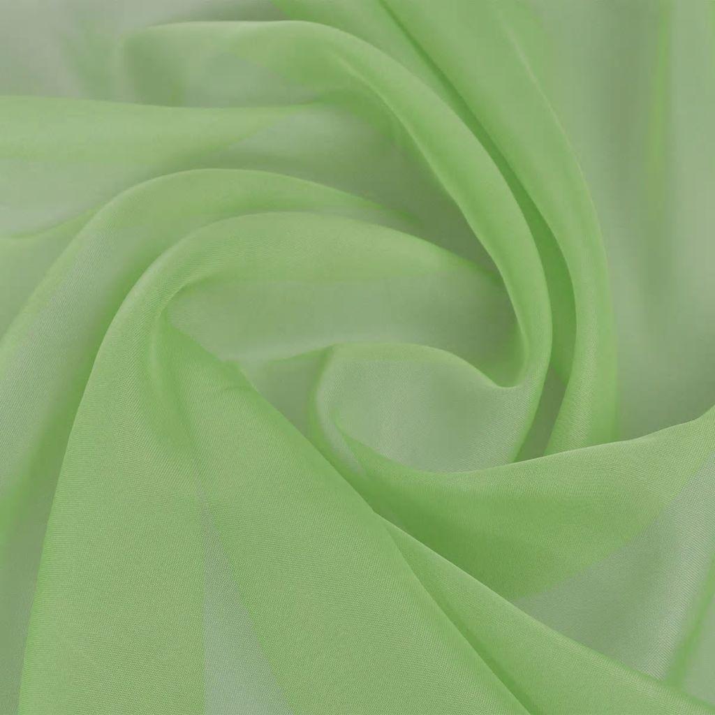 Țesătură voalată, 1,45 x 20 m, verde