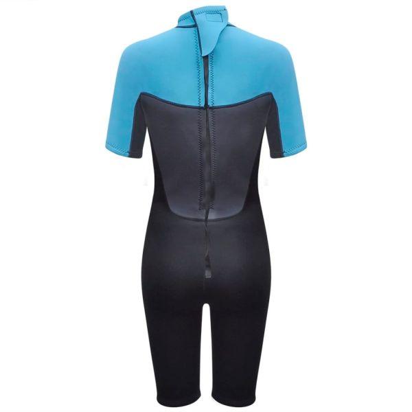 vidaXL Costum scurt sport acvatic femei mediu M 160-165 cm 2,5 mm
