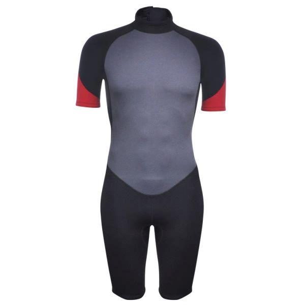 vidaXL Costum bărbătesc scurt sporturi acvatice L 175 – 180 cm 2,5 mm