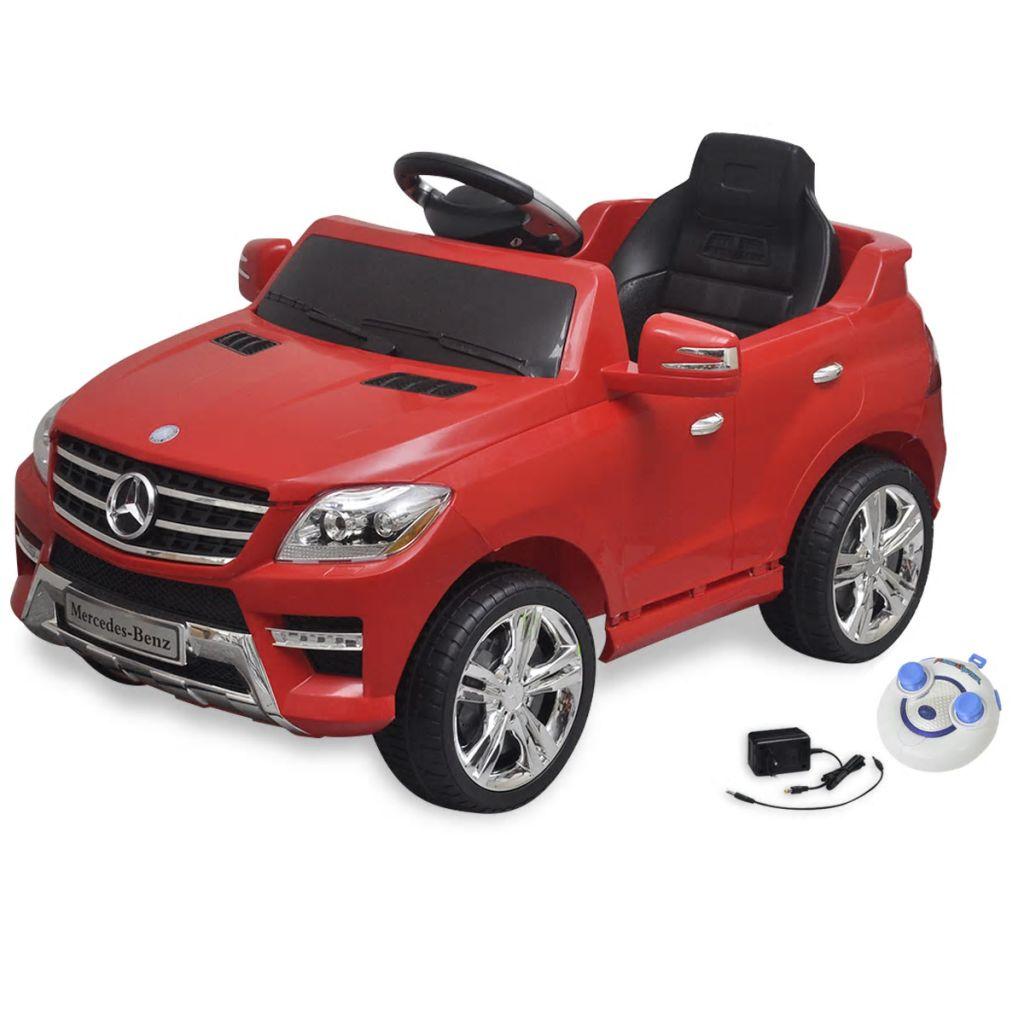 Mașină electrică Mercedes Benz ML350 cu telecomandă, roșu