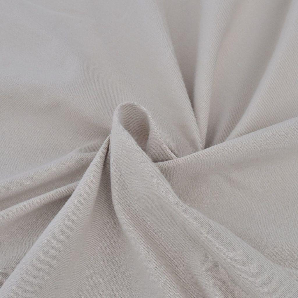 Husă elastică din bumbac Jersey pentru canapea, Bej
