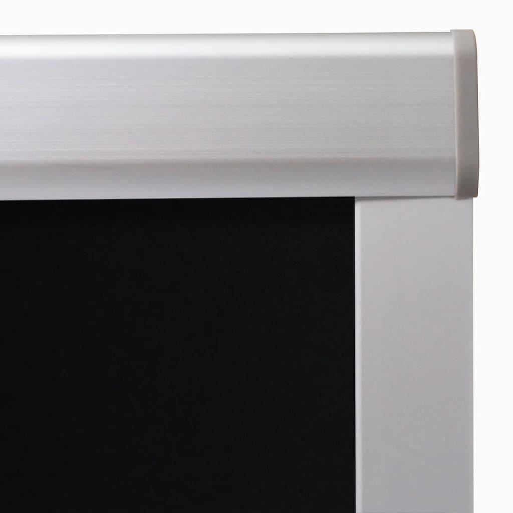 Jaluzele opace tip rulou P06/406, negru