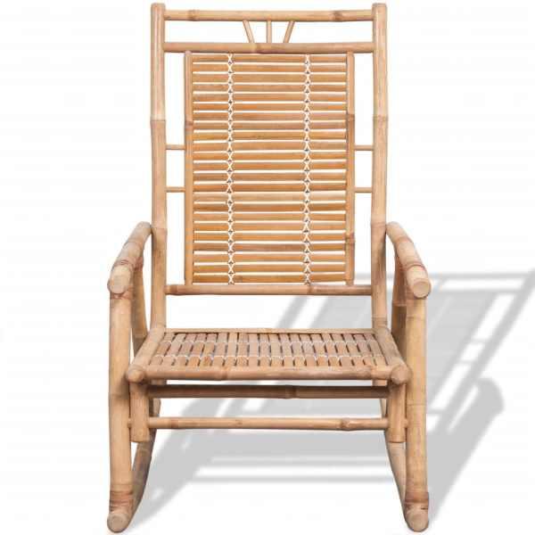 vidaXL Scaun balansoar din bambus