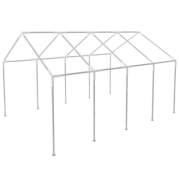 vidaXL Cadru pentru marchiză, 8 x 4 m, oțel