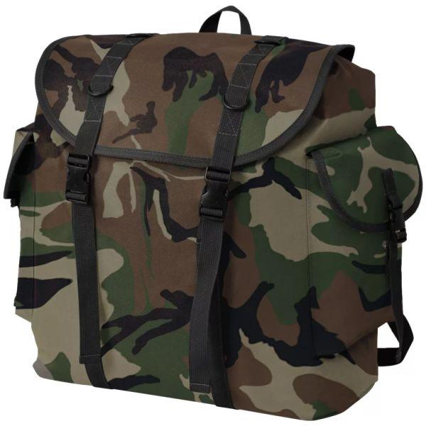 vidaXL Rucsac în stil militar, 40 L, camuflaj