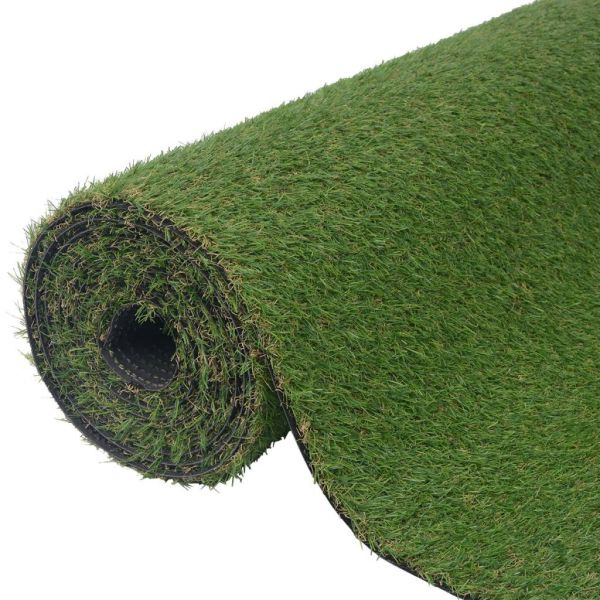 vidaXL Gazon artificial 1 x 8 m/20-25 mm verde
