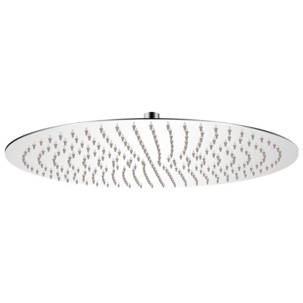 vidaXL Cap de duș rotund tip ploaie, oțel inoxidabil, 50 cm