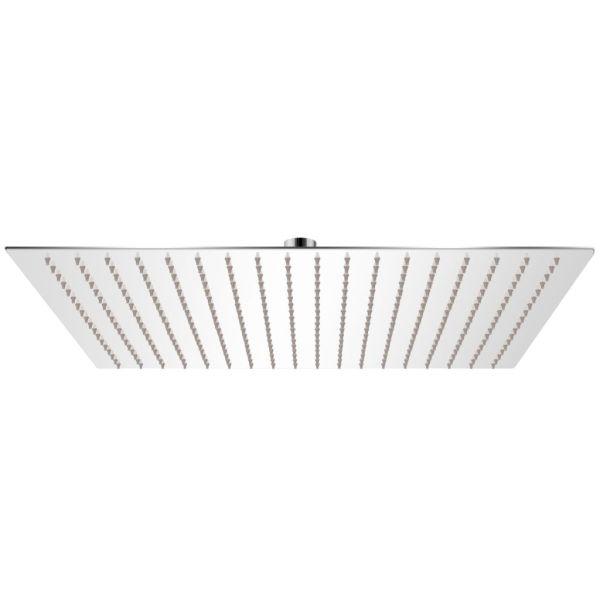 vidaXL Cap de duș pătrat tip ploaie din oțel inoxidabil 50 x 50 cm