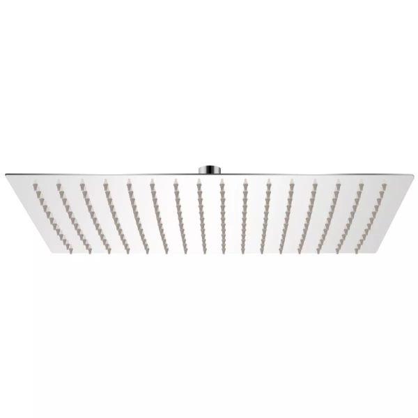 vidaXL Cap de duș dreptunghiular tip ploaie, oțel inoxidabil, 30×40 cm