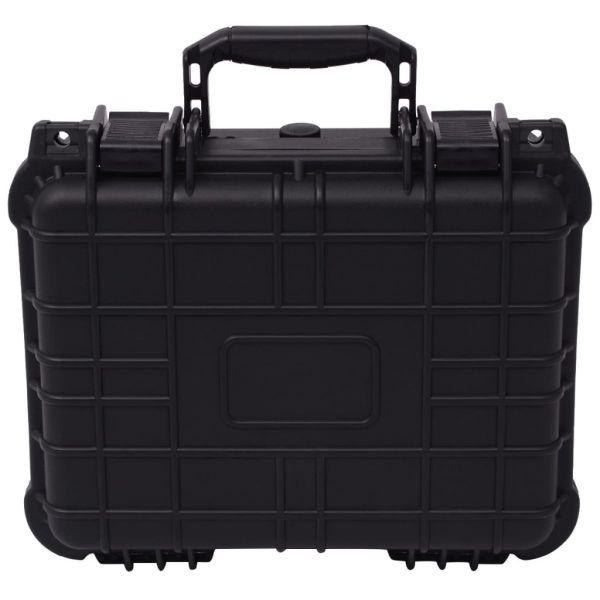 Valiză de protecție echipamente, 35 x 29 x 15 cm, negru