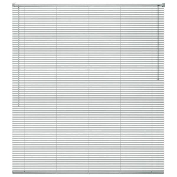 vidaXL Jaluzele pentru ferestre, aluminiu, 60 x 130 cm, argintiu