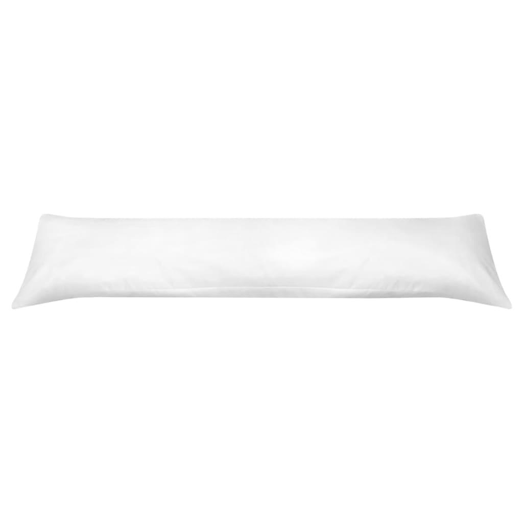 Pernă pentru dormit lateral 40 x 145 cm alb