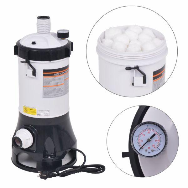vidaXL Pompă de filtrare pentru piscine Intex Bestway, 185 W, 4,4 m³/h