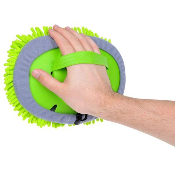 ProPlus Perie de spălat cu șnururi și mâner telescopic, 1,65 m 150650