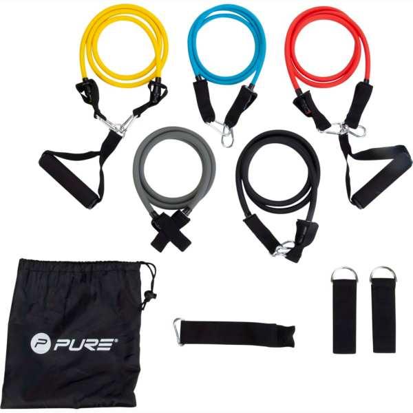 Pure2Improve Set tuburi elastice pentru fitness