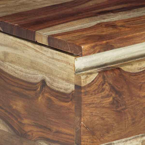 Cufăr de depozitare, 30 x 30 x 57 cm, lemn masiv de sheesham