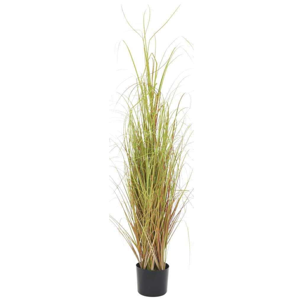 vidaXL Plantă iarbă artificială în ghiveci, 130 cm