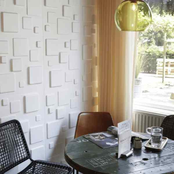 WallArt Panouri 3D de perete GA-WA09, 24 buc., Squares