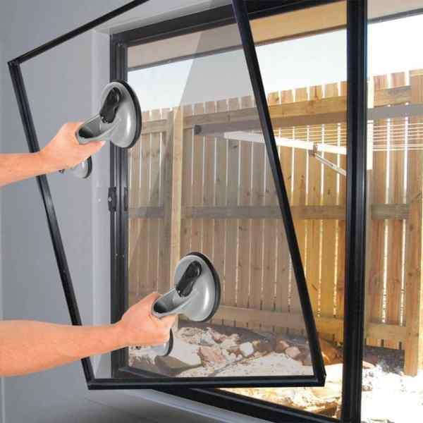 ProPlus Dispozitive de ridicare cu vid cu 2 ventuze, 2 buc, aluminiu