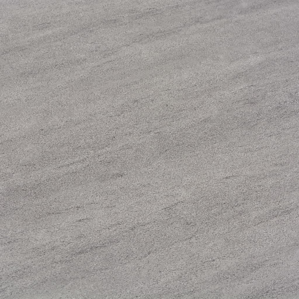 Plăci de pardoseală autoadezive, gri punctat, 5,11 m², PVC